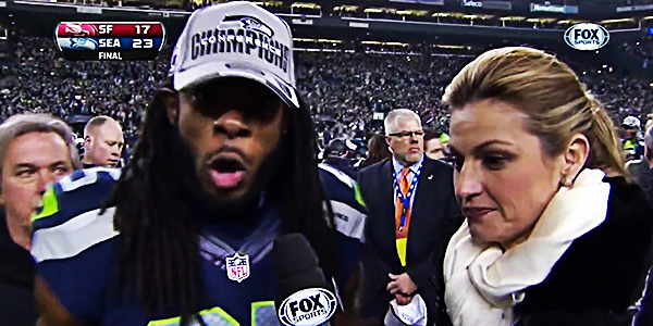 Richard Sherman: Genuine Outburst or Genius Marketing?